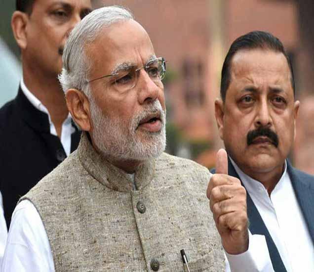 संसदेवर म्हणाले मोदी- गरीबांचे अधिकार अडकून पडले, मनतंत्राने नाही चालत देश|देश,National - Divya Marathi