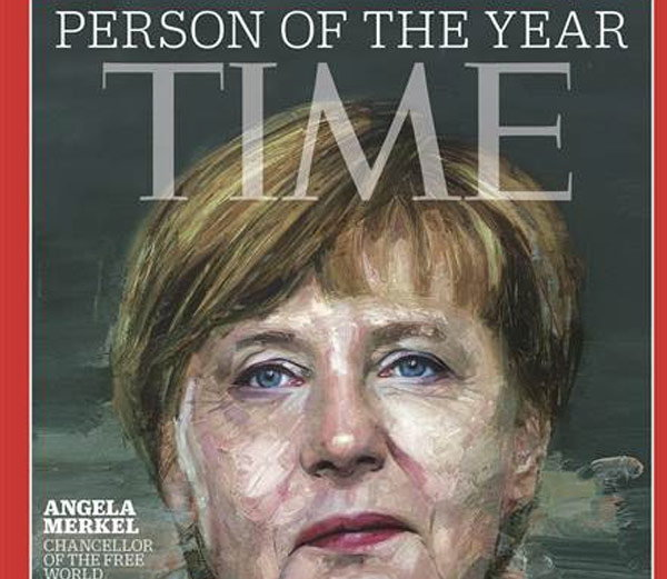 जर्मनीच्या चॅन्सेलर मर्केल TIME Person of the Year, ISIS चा बगदादी रनर-अप|विदेश,International - Divya Marathi
