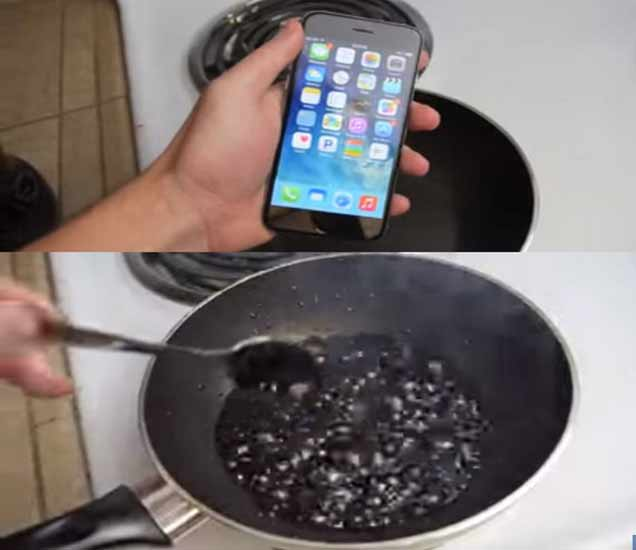 Coca-Cola मध्ये उकळला iPhone 6; काय झालं ते पाहा व्हिडिओमध्ये बिझनेस,Business - Divya Marathi