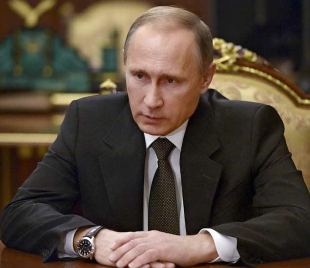 रशियाचे राष्ट्राध्यक्ष व्लादिमीर पुतीन. (फाइल फोटो) - Divya Marathi
