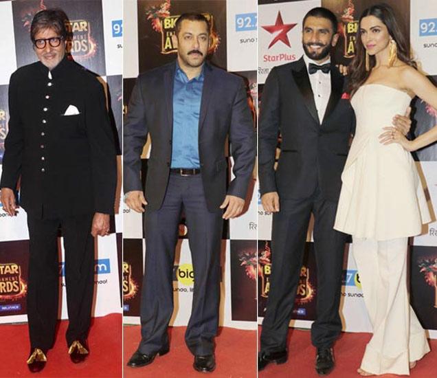 अमिताभ बच्चन, सलमान खान, रणवीर सिंह-दीपिका पदुकोण - Divya Marathi