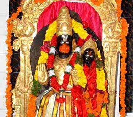 येथे पत्नीसोबत विराजमान आहेत हनुमान, जाणुन घ्या काय आहे कथा...|धर्म,Dharm - Divya Marathi