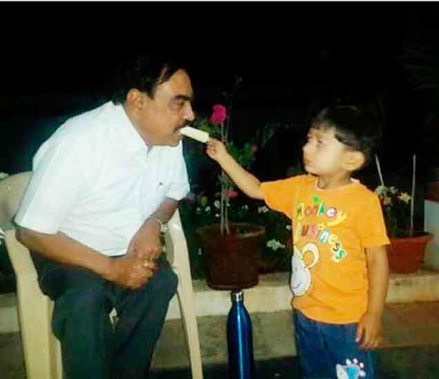 Bday SPL: न पाहिलेले नाथाभाऊ: पाहा, एकनाथ खडसे यांचे हे 10 खास फोटो औरंगाबाद,Aurangabad - Divya Marathi