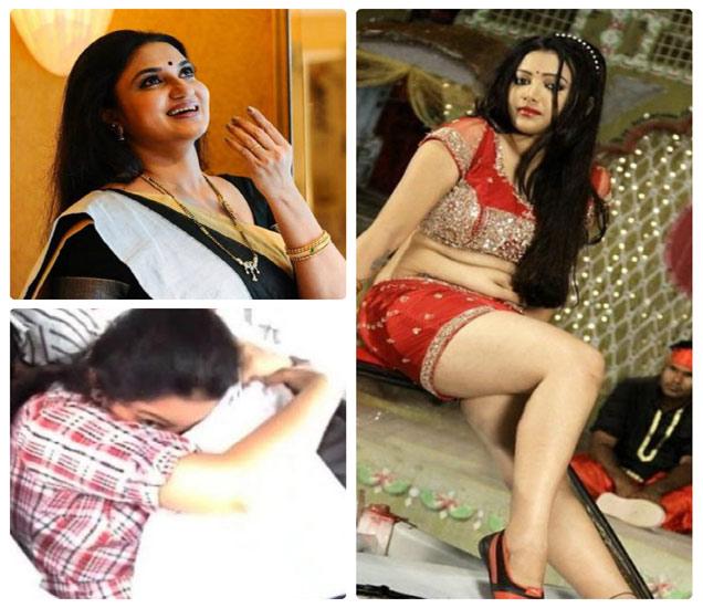 डावीकडे सुकन्याची दोन छायाचित्रे आणि (उजवीकडे) श्वेता बसु प्रसाद - Divya Marathi