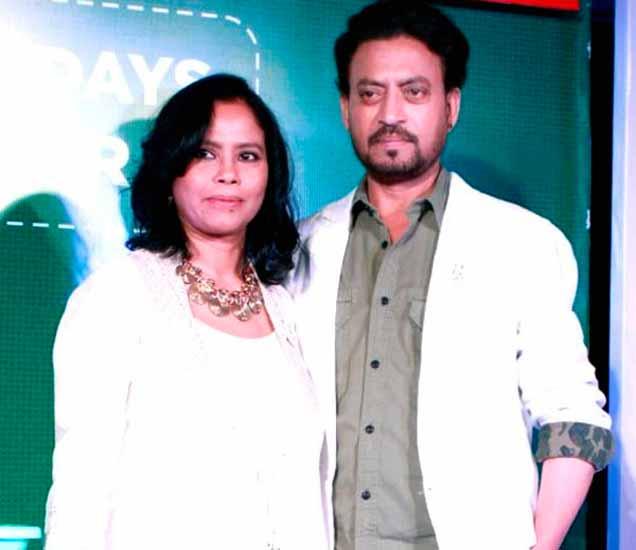 सुतापा सिकदर आणि इरफान खान - Divya Marathi
