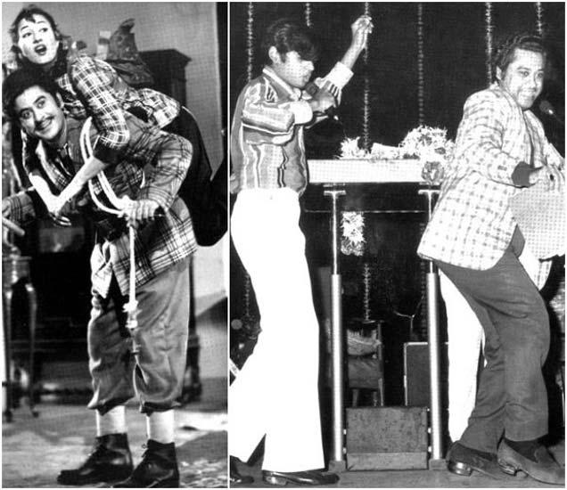 किशोर कुमार मधुबाला आणि मुलगा अमित कुमारसोबत - Divya Marathi