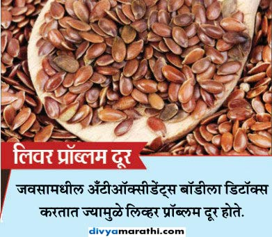 रोज 1 चमचा जवस खाल्ल्याने मिळतील हे 10 फायदे...|जीवन मंत्र,Jeevan Mantra - Divya Marathi