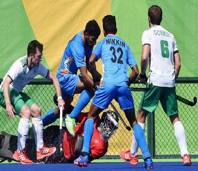 भारतीय हॉकी संघाने 16 वर्षानंतर ऑलिंपिकच्या पहिल्याच सामन्यात विजय प्राप्त केला. - Divya Marathi