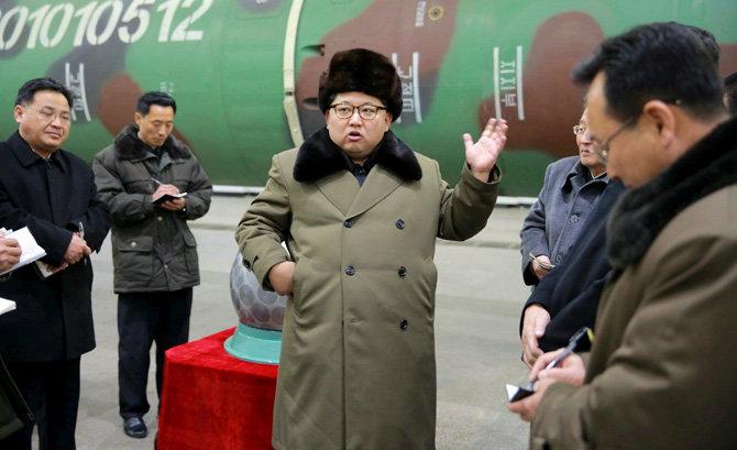 उत्तर कोरियाने पाचवी अणुचाचणी घेतली आहे. याबाबतचा दावा दक्षिण कोरियाने केला आहे. ही चाचणी आतापर्यंतची सर्वात शक्तिशाली असल्याचे सांगितले जात आहे. - Divya Marathi