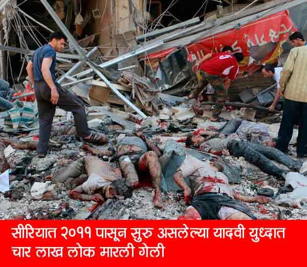 या शहरात लागला मृतदेहांचा ढिगारा, आपल्याच नागरिकांची सरकार करीत आहे हत्या|विदेश,International - Divya Marathi