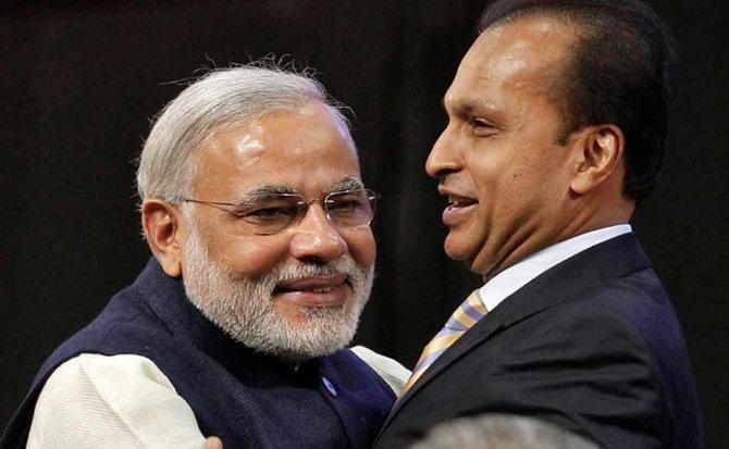 अनिल अंबानींनी सांगितले की धीरुभाईंनी नव्वदच्या दशकात मोदींबद्दल म्हटले होते, की एक दिवस हे देशाचे पंतप्रधान होतील. - Divya Marathi