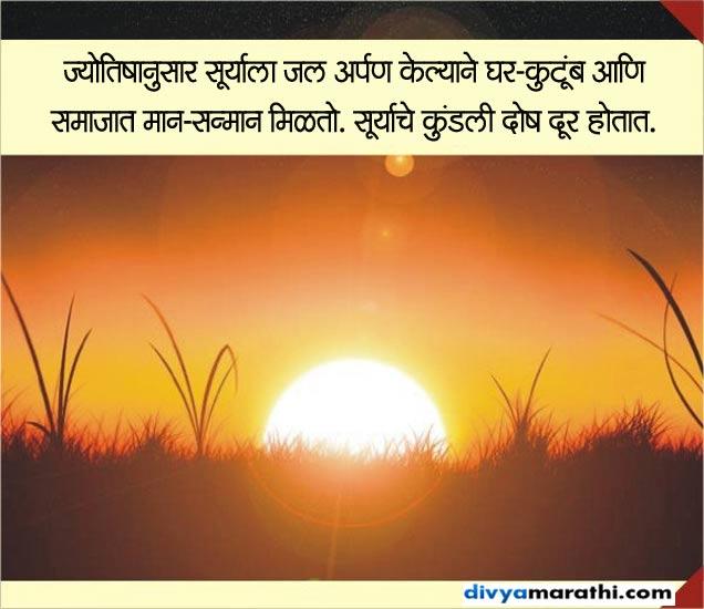 हे आहेत रविवारचे खास उपाय, यामुळे मिळतो मान-सन्मान ज्योतिष,Jyotish - Divya Marathi
