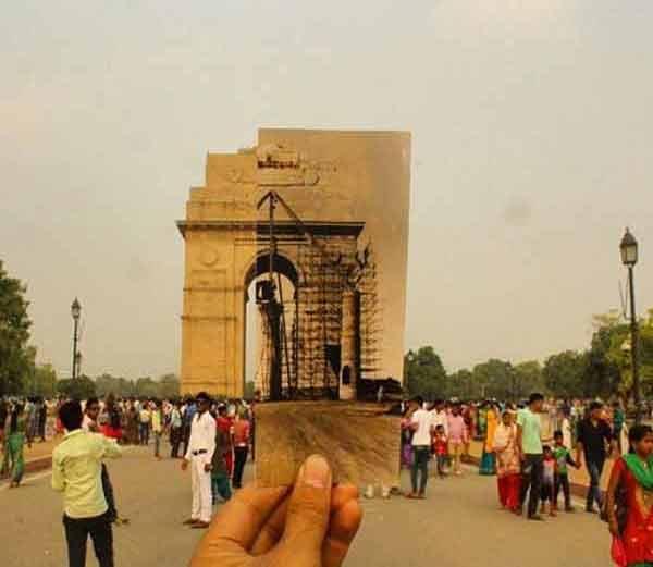 दिल्लीतील इंडिया गेट, आजचे व पूर्वीचे.... - Divya Marathi