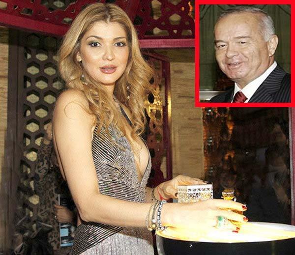 गुलनाराचा फाईल फोटो आणि इनसेटमध्ये तिचे पिता आणि उज्बेकिस्तानचे माजी राष्ट्राध्यक्ष इस्लाम करीमोव.... - Divya Marathi