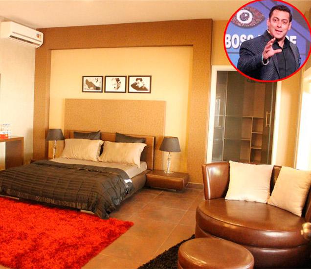 सलमान खानच्या प्राइव्हेट शैलेटमधील बेडरूम - Divya Marathi
