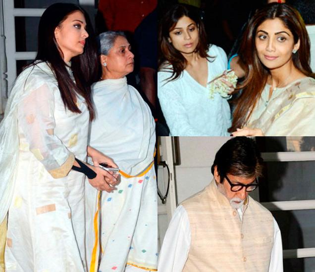 ऐश्वर्या - जया बच्चन, शमिता आणि शिल्पा शेट्टी, अमिताभ बच्चन - Divya Marathi