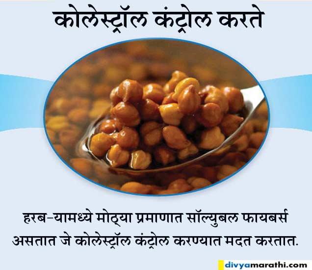रोज सकाळी खावेत मुठभर भिजवलेले हरबरे, तर होतील हे 10 फायदे...|जीवन मंत्र,Jeevan Mantra - Divya Marathi