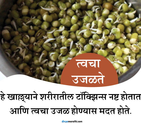 रोज सकाळी एक वाटी अंकुरित मूग खाल्ल्यास होतील हे 10 खास फायदे जीवन मंत्र,Jeevan Mantra - Divya Marathi