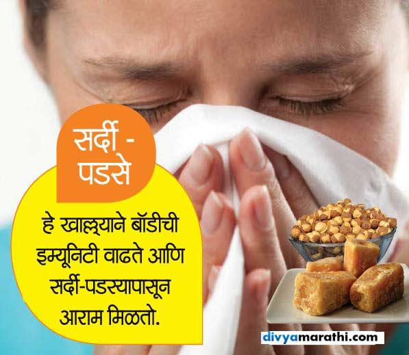 गुळ-फुटाणे खाल्ल्याने कमी होईल लठ्ठपणा, जाणुन घ्या असेच 10 फायदे...|जीवन मंत्र,Jeevan Mantra - Divya Marathi
