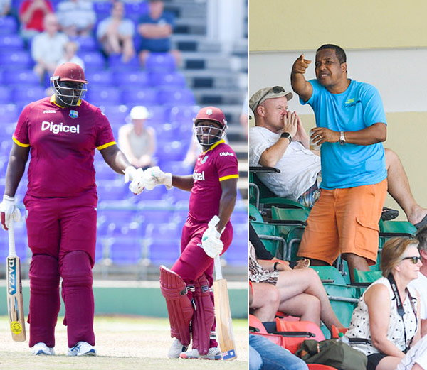 वेस्ट इंडिजचा २४ वर्षीय अष्टपैलू व धिप्पाड क्रिकेटपटू रहकीम कॉर्नवाल... - Divya Marathi