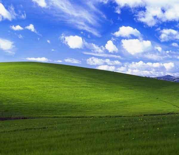 मायक्रोसॉफ्टच्या ऑपरेटिंग सिस्टिम विंडोज एक्सपीचा वॉलपेपर.... - Divya Marathi