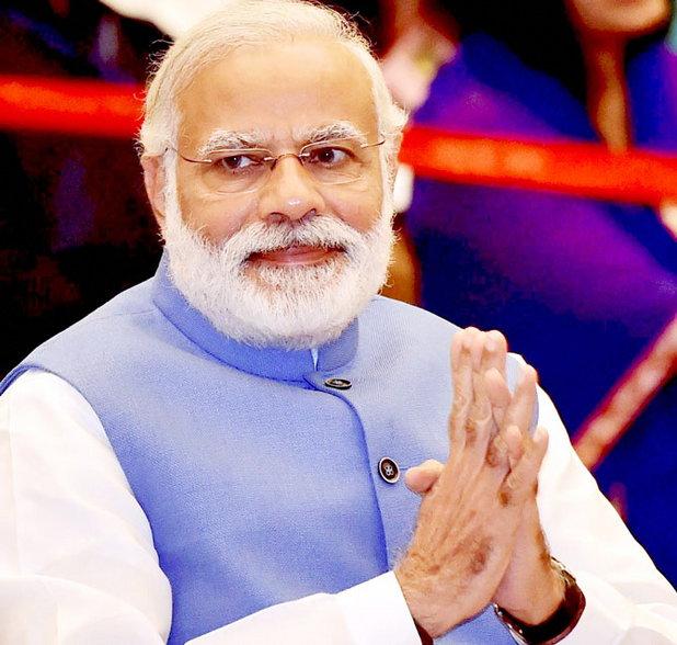 मोदींनी 26 मे 2014 ला पंतप्रधान पदाची शपथ घेतली होती. - Divya Marathi