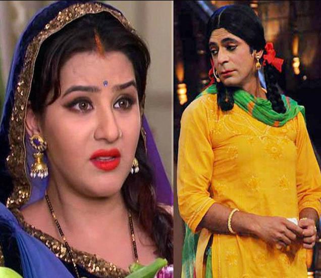 शिल्पा शिंदे आणि सुनील ग्रोवर - Divya Marathi