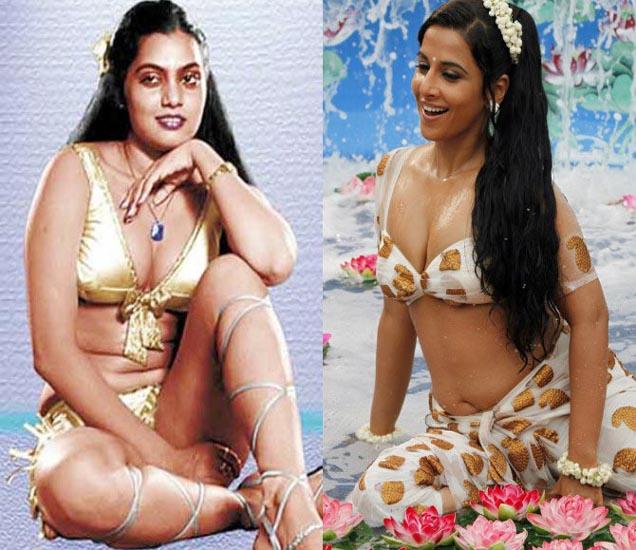 सिल्क स्मिता आणि विद्या बालन - Divya Marathi