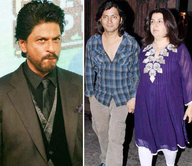 शाहरुख खानने एका पार्टीत फराह खानचा पती शिरीष कुंदरला मारहाण केली होती. - Divya Marathi