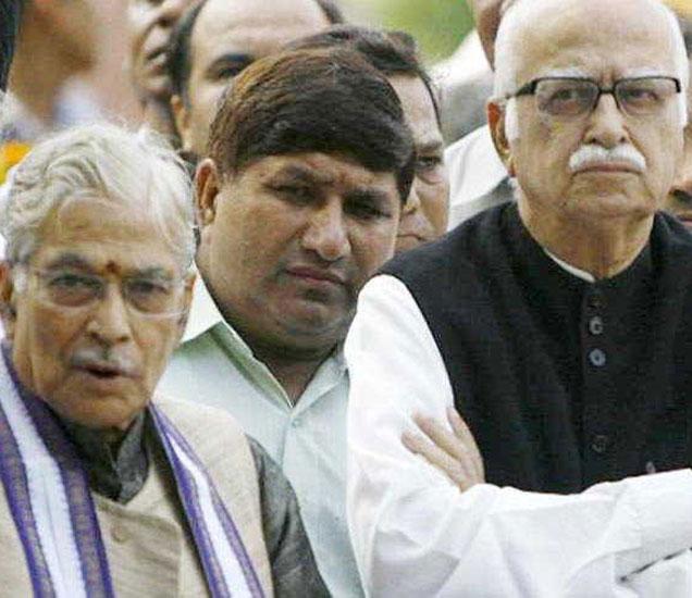 आडवाणींसह एकूण 13 नेते या प्रकरणी आरोपी आहेत. - Divya Marathi