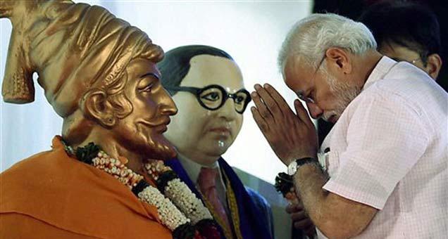महाराष्ट्र दौऱ्यावर असताना पंतप्रधान नरेंद्र मोदी (फाइल फोटो). - Divya Marathi
