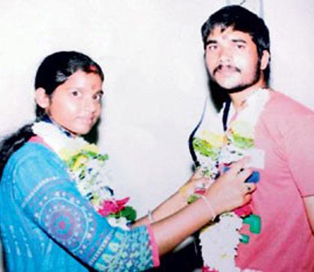 कुटुंबियांनी विरोध केल्यानंतर दोघांनी मुंबईला जाऊन विवाह केला होता. - Divya Marathi