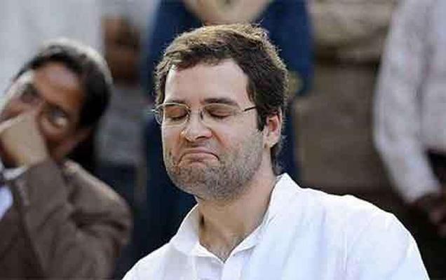 राहुल गांधी यांचा उल्लेख एका काँग्रेस नेत्याने पप्पू असा केला आहे. (फाईल) - Divya Marathi