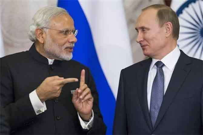 भारतीय परराष्ट्र मंत्रालयाने स्पष्ट केले आहे की, रशियाने भारत-पाकिस्तानमध्ये मध्यस्थीची कोणतीही ऑफर दिलेली नाही. - Divya Marathi