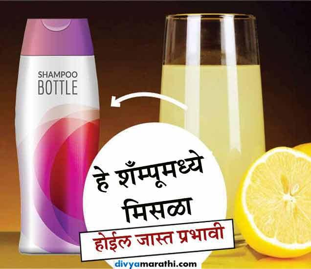 शाम्पूमध्ये मिसळा हे 10 नैसर्गिक पदार्थ, होईल दुप्पट फायदा...|जीवन मंत्र,Jeevan Mantra - Divya Marathi