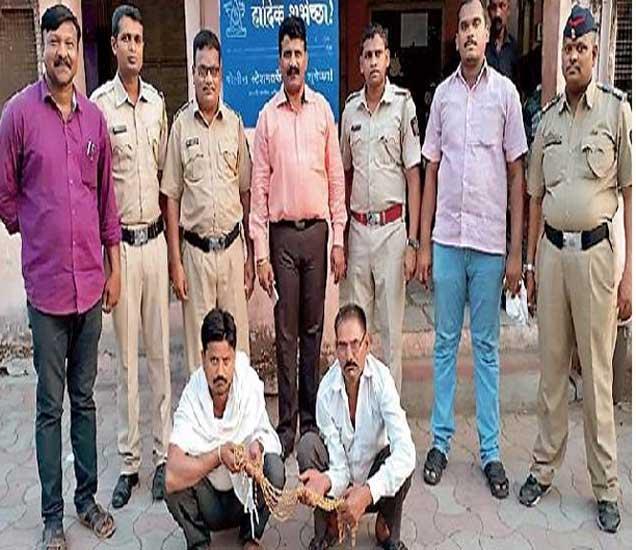 यावल पोलिसांनी ताब्यात घेतलेले राजस्थानचे भामटे - Divya Marathi