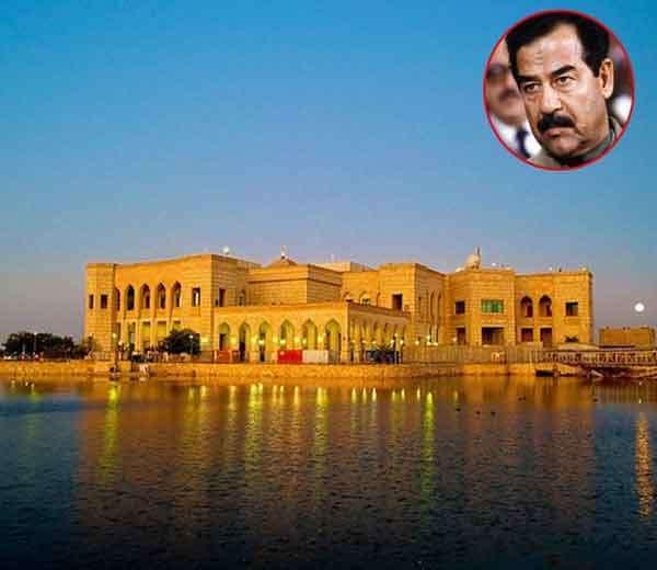 सद्दाम हुसेनचा अल-फॉ महल. - Divya Marathi