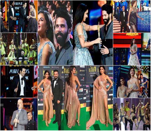 आयफा पुरस्कार सोहळ्यात पुरस्कारांची रेलचेल आणि कलाकारांच्या सादरीकरणाने एकच रंगत आणली. - Divya Marathi