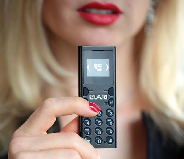 जगातला सर्वात छोटा फोन असल्याचा दावा करण्यात आला आहे. - Divya Marathi