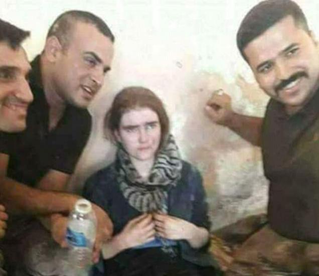 जर्मनीच्या डाय वेल्ट दैनिकाने इराकमध्ये पकडण्यात आलेली मुलगी लिंडा वेनझेल असल्याचा दुजोरा दिला आहे. - Divya Marathi