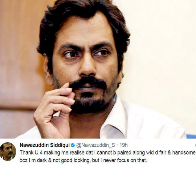 नवाजुद्दीन सिद्दीकी आणि त्याने केलेले ट्विट. - Divya Marathi