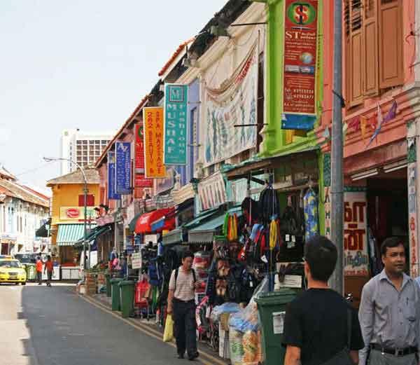 सिंगापूरमधील हा असा भाग, ज्याला लिटल इंडिया नावाने ओळखला जातो. - Divya Marathi