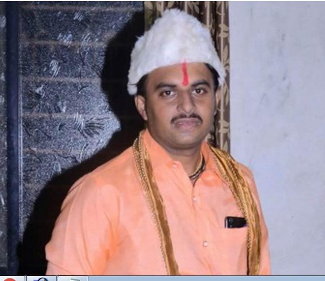 हृदयविकाराच्या झटक्याने मृत्यू झालेला यूवक. - Divya Marathi