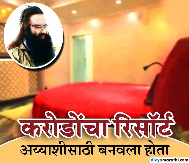 बाबाचा 10 लाखांचा आलिशान बेड. - Divya Marathi