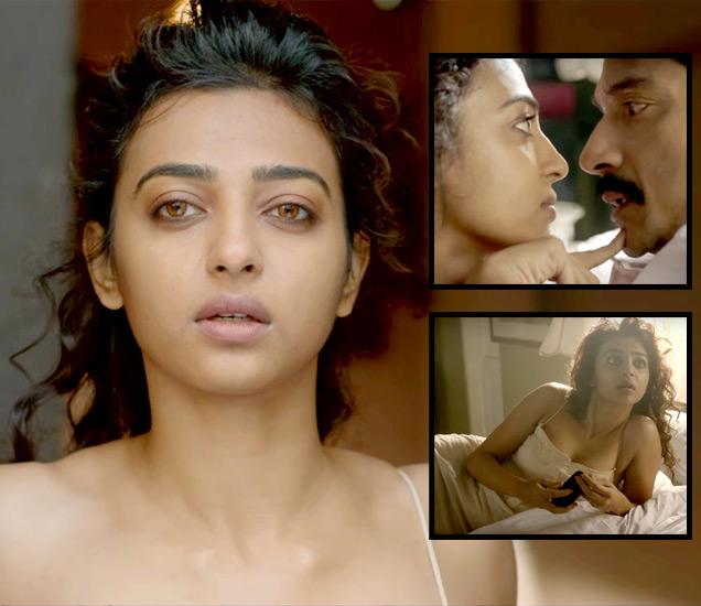 'अहल्या' या शॉर्ट फिल्ममधील वेगवेगळ्या दृश्यांत राधिका आपटे. - Divya Marathi