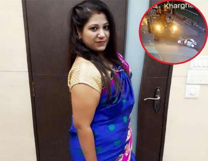 शिल्पा पुरी यांचा फाइल फोटो. (इन्सॅटमध्ये कॅमेऱ्यात कैद झालेली दुर्घटना) - Divya Marathi