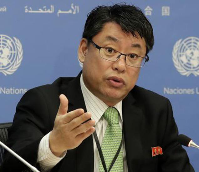 संयुक्त राष्ट्रात उत्तर कोरियाचे उप-राजदूत किम इन रेयोंग - Divya Marathi