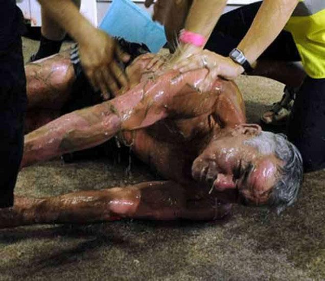 सॉना बाथमध्ये झाला मृत्यू. - Divya Marathi