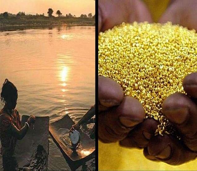 झारखंडच्या स्वर्णरेखा नदीमध्ये अमाप सोने आहे. - Divya Marathi