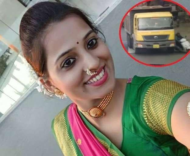 शास्त्रीनगर येथील महादेवभाई देसाई चौकात युवतीचा अपघात झाल्यानंतर पुणे पोलिसांनी शहरात सर्वाधिक अपघात होणारी 36 ठिकाणी शोधली आहेत. - Divya Marathi